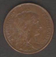 FRANCIA 5 CENTIMES 1917 - Francia