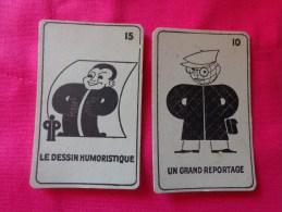 Cartes PETIT PARISIEN PRESENT PARTOUT Un Grand Reportage-le Dessin Humoristique - Publicité