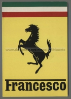 U5861 FERRARI NOME FRANCESCO ExtraGrand (tur) - Nomi