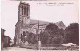 Cpa BILLOM Eglise St Cerneuf Monument Historique - France