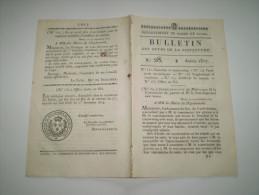 Mâcon 1817:Délivrance De Passeport D'indigent & Secours.Répression Vagabondage & Mendicité.Franchise & Contre Seing - Historical Documents