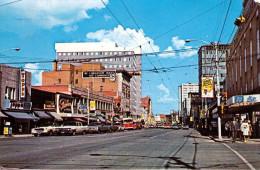 CANADA - Edmonton, Alberta, Looking East On Jasper Ave, Karte Gel.1967, Sondermarke - Edmonton