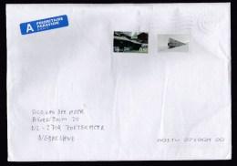 Norway: Airmail Cover To Netherlands, 2012, 2 Stamps, Historical Buildings, Priority Label (minor Creasing) - Noorwegen