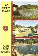 Dun Sur Meuse (55) : Lac Vert Plage (multivues N°557/2 éd Mage) - Dun Sur Meuse