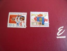 Timbres  D D R  Année 1982   Miichel    Neuf * * N°  2724 / 25 - [6] République Démocratique