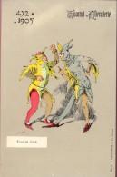 PK - Tournoi De Chevalerie - Tornooi - Ridders -  1452 -1905 - Fous De Cour - Hofnarren   - Illustr Michel - Evénements
