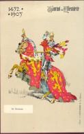 PK - Tournoi De Chevalerie - Tornooi - Ridders -  1452 -1905 - De Renesse  - Illustr Michel - Evénements