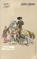 PK - Tournoi De Chevalerie - Tornooi - Ridders -  1452 -1905 - Philippe Le Bon Duc De Bourgogne  - Illustr Michel - Evénements