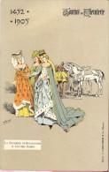 PK - Tournoi De Chevalerie - Tornooi - Ridders -  1452 -1905 - La Duchesse De Bourgogne  - Illustr Michel - Evénements