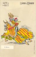 PK - Tournoi De Chevalerie - Tornooi - Ridders -  1452 -1905 - De Merode  - Illustr Michel - Evénements