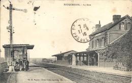 FOUQUEREUIL. LA GARE - France