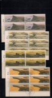 SOUTH WEST AFRICA, 1977, CTO Control Strips, Namibian Desert, M 427-430 - South West Africa (1923-1990)