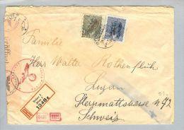 Böhmen + Mähren Brünn 1944-11-28 Zensurbrief > CH - Bohême & Moravie
