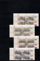 SOUTH WEST AFRICA, 1985, CTO Control Blocks, Locomotives, M 575-578 - South West Africa (1923-1990)