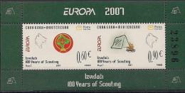 2007 CRNA GORA  Montenegro Booklet Mi. MH 2 ** MNH - Europa-CEPT