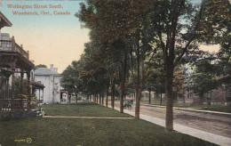 WOODSTOCK, Ontario, Canada; Wellington Street South, PU-1912 - Ontario