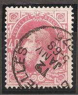 N° 34, Oblitéré - 1869-1883 Leopold II