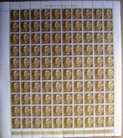 ESPAÑA - EDIFIL Nº 1144 FRANCO 15 CTS  - PLIEGO DE 100 SELLOS NUEVOS ** - 1931-Hoy: 2ª República - ... Juan Carlos I