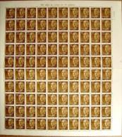 ESPAÑA - EDIFIL Nº 1147 - 30 CTS SERIE DE FRANCO - PLIEGO DE 100 SELLOS NUEVOS (**) - 1931-Hoy: 2ª República - ... Juan Carlos I