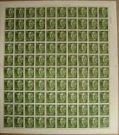 ESPAÑA - EDIFIL Nº 1151 - 70 CTS SERIE DE FRANCO - PLIEGO DE 100 SELLOS NUEVOS (**) - 1931-Hoy: 2ª República - ... Juan Carlos I
