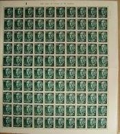 ESPAÑA - EDIFIL Nº 1152 - 80 CTS SERIE DE FRANCO - PLIEGO DE 100 SELLOS NUEVOS (**) - 1931-Hoy: 2ª República - ... Juan Carlos I
