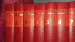 Livres ,Encyclopédie :Le Médical Euro- Comptoirs ;7 Volumes De 1976 - Encyclopédies