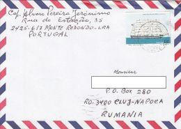 25346- VASCO DA GAMA SAILING SHIP, STAMPS ON COVER, 1999, PORTUGAL - 1910-... República