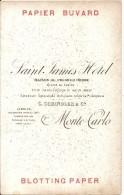MONACO . SAINT JAMES HOTEL - Buvards, Protège-cahiers Illustrés