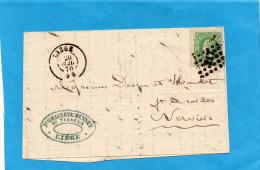 MARCOPHILIE- Lettre Oblitération Point N°217- Cad 20 Juil 1870 - Postmarks - Points