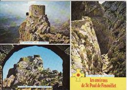 66 Pyrenees Orientales,St.Paul De Fenouillet-les Environs,Chateau De Queribus,Chateau De Peyrepertuse,circule Oui - Frankreich