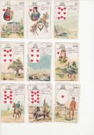 Jeu De Cartes Lenormand - Cartes Pour Tirer - Jeu De 36 Cartes - Complet + Explications - Cartes à Jouer