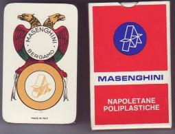 Jeu Napolitain - Masenghini - N° 36 - Complet Scéllé Sous Célophane - Cartes à Jouer