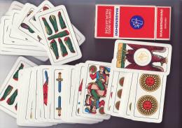Jeu Napolitain Bergame - Masenghini - N° 21 - Complet - Cartes à Jouer