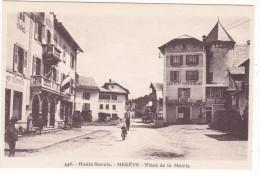 440.  -  Haute-Savoie.  -  MEGEVE  -  Place  De  La  Mairie - Megève