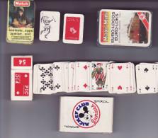 Lot De 3 Jeux Miniatures - Cartes à Jouer