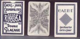 Lot De Trois Jeux 2 X 32 + 1 X 54 - - Cartes à Jouer