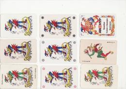Lot De 9 Jokers - Cartes à Jouer