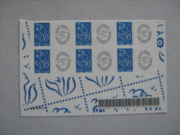 2004   NO YT 3966A  * *    MARIANNE DE LAMOUCHE  PETITE VIGNETTE  BLOC  DE 6 TIMBRES - Personalizzati