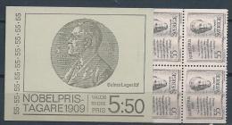 Suède 1969 Carnet C643 Prix Nobel De 1909 - Carnets