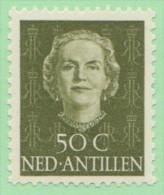 NAN SC #225 MNH  1950 Queen Juliana, CV $14.00 - Curacao, Netherlands Antilles, Aruba