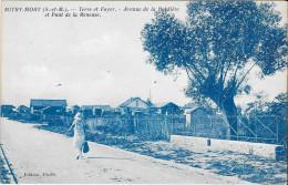 Mitry-Mory : Terre Et Foyer : Avenue De La Bardière Et Pont De La Reneuse - Mitry Mory