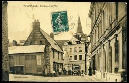 Cpa Du 76 Doudeville -- Un Coin De La Ville       AA12 - France