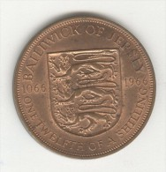 1/12 Shilling - Jersey - 1966 TTB+ - Jersey