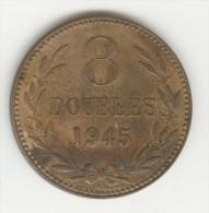 8 Doubles - Guernesey - 1945 TTB+ - Guernsey