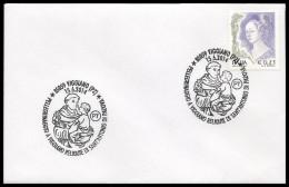 Italia Italy (2014) Annullo Speciale/special Postmark: Viggiano; Religione/religion; Sant'Antonio Da Padova [as Scan] - Christianity