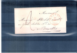 Lettre De Louvain Vers Bruxelles - 25-Fév-1849 (à Voir) - 1830-1849 (Belgique Indépendante)