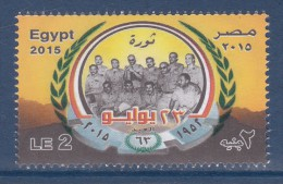 Egypt - 2015 - ( 63th Anniv. Of The Revolution Of 23 July 1952 ) - MNH - Nuovi