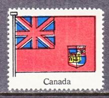CANADA   FLAG   ** - Local, Strike, Seals & Cinderellas