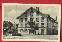 EZN-03  Gasthof ADler Oberstaufen Gelaufen Nach Zürich - Oberstaufen