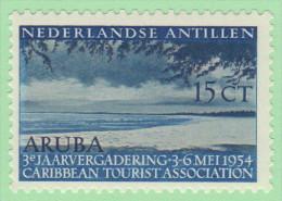NAN SC# 231 MLH  1955 Caribbean Tourist Association, CV $5.00 (if NH) - Curacao, Netherlands Antilles, Aruba